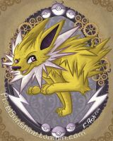 Jolteon by PixelSunshine