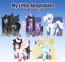 My Little Adoptables: Round Three [closed!] by Narrowed