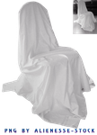 Draped Chair Cut-out PNG by Alienesse-Stock