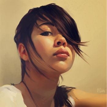 Face Study 3 by hel999