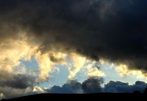Evening Clouds by Amoryl