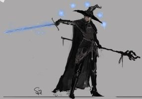 Dark Souls Mage by Halycon450