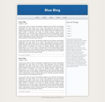 Blue Blog by guiwhore