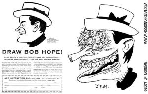 Draw Bob Hope by jpmorgan