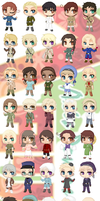 APH - Doll Collection by cutepiku