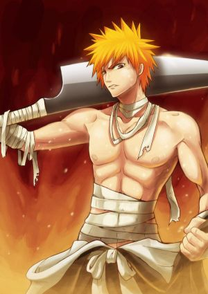 Amber's new sexy banner! Bleach__Burning_Out_Ichigo_by_mazjojo
