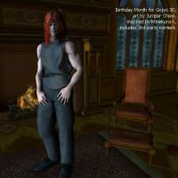 S Gojyo 3D indoors by ibr-remote