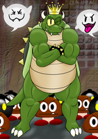 King Koopa by NatalieTheAntihero
