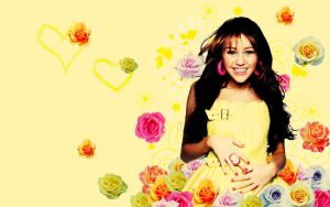 Wallpaper Miley by Pop-Matta