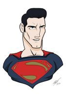Man of steel Disney1 by Kryptoniano