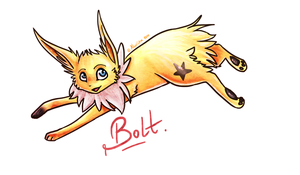 .: Bolt the Jolteon :. by Aluri