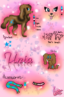 Unia Ref Sheet 2012 by Pixel-Candy