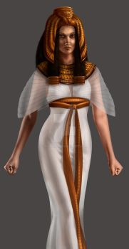 Goddess Isis by svanha