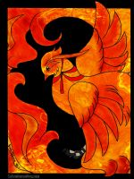 Fire Element - Pheonix by AppleLily
