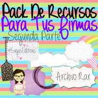 Recursos Para Tu Firma 2daParte by PinkLifeEditions