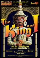 The King and I Poster by legley