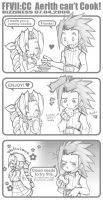 FFVII:CC - Aerith Can't Cook by dizziness