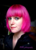 When my hair was full pink. by ASFmaggot