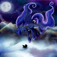 Within the Snow by Esurie