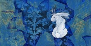 White Jackalope III by ursulav