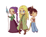 Ingaia Chibis by RayNoir
