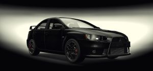 Mitsubishi Lancer Evo X by TheImNobody