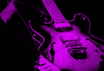 GUITAR BLUES POP - Purple by delade