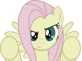 discorded flutters breaking the 4th wall.. what? by TheGreatCleave