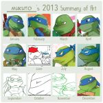 2013 Summary of Art by mukuto