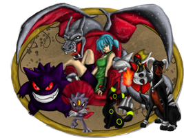 Request - Rin's Pokemon Team by Ravyn-Karasu