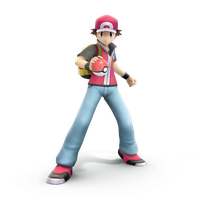 Pokemon Trainer, Smash Bros Trophy Render by Nibroc-Rock