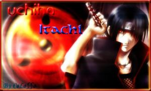Uchiha Itachi by Colossobm