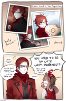 Pokemon: Maxie Then and Now by batensan