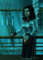 Fan Art - Burial At Sea (Fall of Rapture ver.) by Crumbelievable