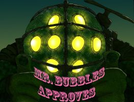 Mr. Bubbles Approves by Spaceflight-Wyvern