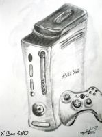 Xbox 360 by worthgold