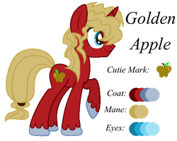 MLP:Golden Apple Profile by kiananuva12