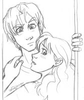 Draco and Hermione - Caught by irishgirl982