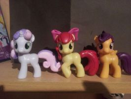 Cutie Mark Crusaders - custom by CelestPapermoon