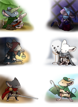 Mouse guard fan character by norang94