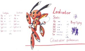 Lediator, evo of ledian