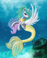 Sea Princess by DaffyDream