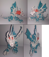 Chaos Emperor Dragon model - Finished~! by DarkShinyCharizard