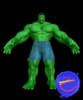 Hulk by Supermangraphix
