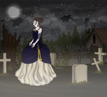 Lady of the Graves by awkwardUneecorn