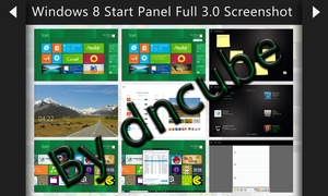 Win8 Start Panel 3 Screenshot by andreascy