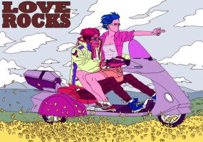 'Love Rocks' by AfuChan
