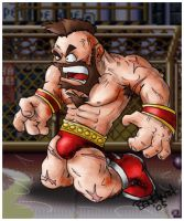 SF2 Fanart - Zangief by benhaith