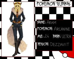 Pokemon Gijinkas - Aram :evolved: - Redesign by lordmegi