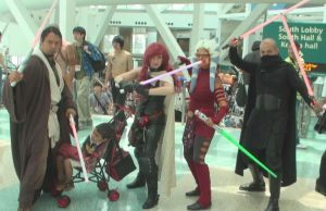 Who are these Jedi from Star Wars at AX 2013? by trivto